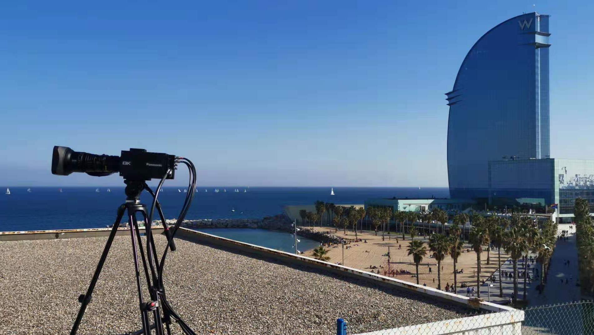 """MWC19巴塞罗那通讯展""华为5G+8K直播项目"