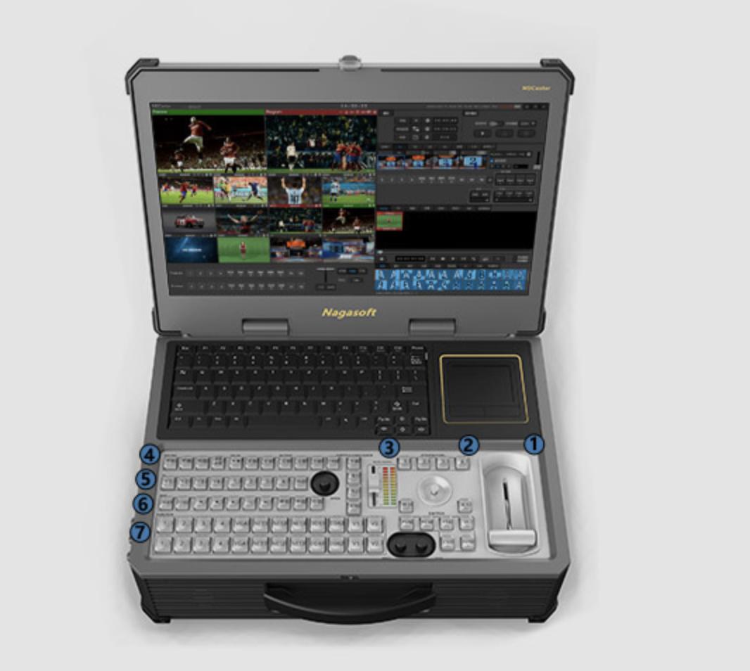 NSCaster 558广播级全媒体导播一体机